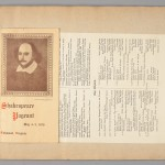 Program for the Shakespeare Pageant hosted in Spring of 1916. Virginia Baptist Historical Society.