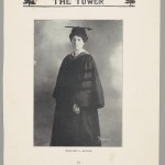 May Keller in the Tower, Virginia Baptist Historical Society