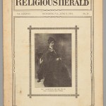 May Keller in the Religious Herald, Virginia Baptist Historical Society