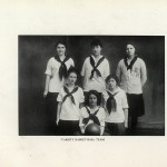 1914-1915 Varsity Women's Basketball Team.