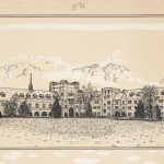 Drawing of North Court