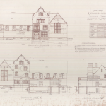 Building plan for Brunet Hall