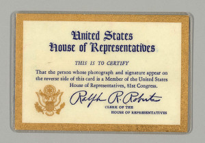 House of Representatives ID Card