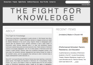The Fight For Knowledge